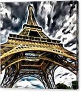 The Amazing Eiffel Acrylic Print