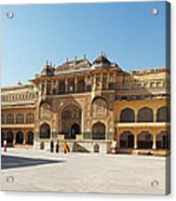 The Amber Fort Acrylic Print