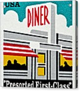 The American Diner  Acrylic Print