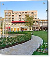 The Americana At Brand Outdoor Shopping Mall In California. Acrylic Print