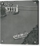 The Ancient Warship Goes A Ground Near The Mena I Acrylic Print