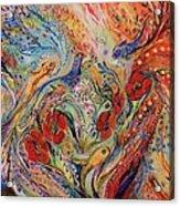 The Anemon Flowers Acrylic Print