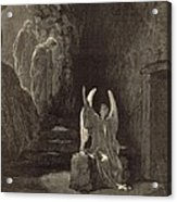 The Angel At The Sepulchre Acrylic Print