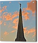 The Angel Maroni At Sunset Acrylic Print
