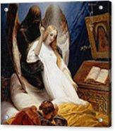 The Angel Of Death Acrylic Print