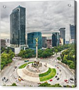 The Angel Of Independence, Mexico City Acrylic Print