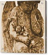 The Angel Virginia Acrylic Print