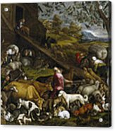 The Animals Entering Noah's Ark Acrylic Print