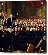 The Anti-slavery Society Convention 1840 Acrylic Print