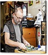 The Antique Dealer Acrylic Print