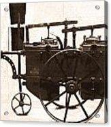 The Antique Farming Machine  Acrylic Print