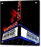 The Apollo Theater Acrylic Print