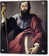The Apostle Saint James Acrylic Print