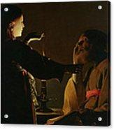 The Appearance Of The Angel To Saint Joseph Acrylic Print
