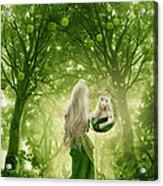 The Apple Fairy Acrylic Print