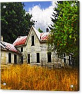 The Apple Tree On The Hill Acrylic Print