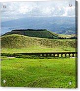 The Aqueduct Panoramic Acrylic Print