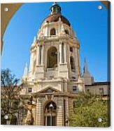 The Arch - Pasadena City Hall. Acrylic Print