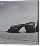 The Arch At Anacapa Island Acrylic Print