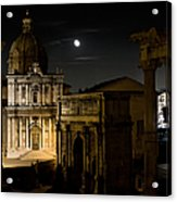 The Arch Of Septimius Severus Acrylic Print