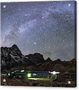 The Arch Of The Milky Way Galaxy Acrylic Print