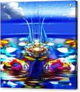 The Arkadian Fountain Acrylic Print