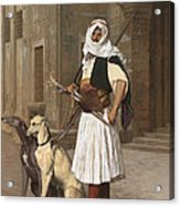 The Arnaut With Two Whippets Acrylic Print