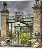 The Art Nouveau Ships Elevator - Portal View Acrylic Print