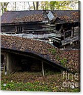 The Art Of Decay Acrylic Print
