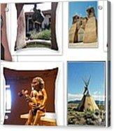 The Art Of New Mexico Acrylic Print