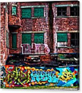 The Art Of The Streets Acrylic Print by Karol Livote