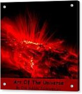 The Art Of The Universe 307 Acrylic Print