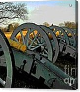 The Artillery Acrylic Print