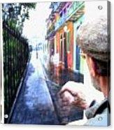 The Artist Acrylic Print