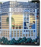The Artists Cottage Acrylic Print