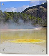 The Artist's Palette Wai 0 Tapu Acrylic Print