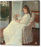 The Artist's Sister At A Window Acrylic Print