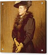 The Artists Wife, 1893 Acrylic Print