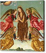 The Ascension Of Saint Mary Magdalene Acrylic Print