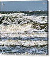 The Atlantic Ocean At Sullivan's Island Acrylic Print