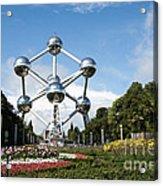 The Atomium Acrylic Print