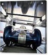 The Attempt- Mickey Thompson- Metal And Speed Acrylic Print by Holly Martin
