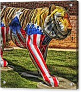 The Auburn Tiger Acrylic Print