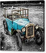 The Austin 7 Acrylic Print by Adrian Evans