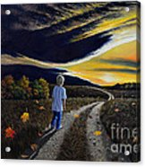 The Autumn Breeze Acrylic Print