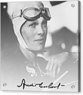 The Aviatrix Acrylic Print