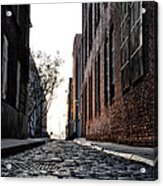 The Back Alley Acrylic Print