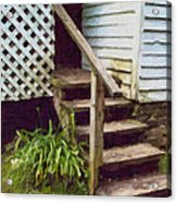 The Back Steps Acrylic Print