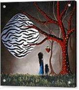 The Bait By Shawna Erback Acrylic Print by Shawna Erback