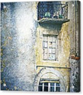 The Balcony Scene Acrylic Print